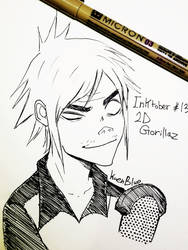 Inktober 13   2d by KaenBlue