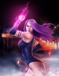 Psylocke by jackmal0ne