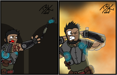Gears of War by Tangotacular