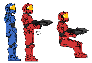 Halo 3 Art Collection by Tangotacular