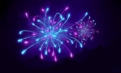 Fireworks by Kyr-kun-chan