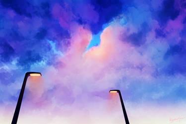 Clouds by Kyr-kun-chan