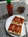 Sriracha Tofu Steaks by XxMisery-SeverityxX