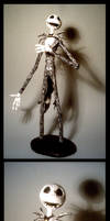 Jack Skellington Figure strip by suthnmeh