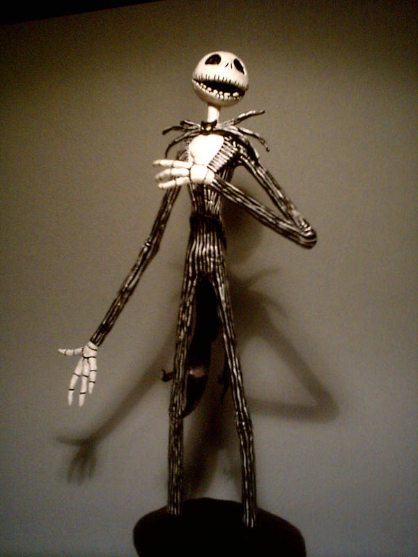 Jack Skellington Figure by suthnmeh