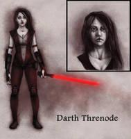 Comission test: Darth Threnode by suthnmeh