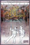 TMNT fanfic illustration - Streaks by suthnmeh