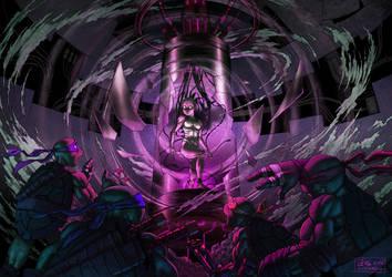 TMNT Horror Revised by suthnmeh