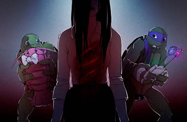 TMNT fanfic illustration: Onryo by suthnmeh
