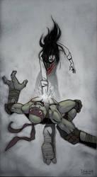 TMNT fanfic illustration - Frigid by suthnmeh