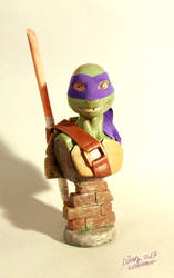 Tmnt Donatello Bust by suthnmeh