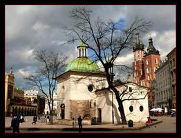 St. Wojciech Church - Cracow by skarzynscy