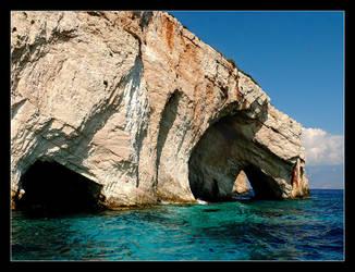 Blue Caves - Zakinthos - 1 by skarzynscy