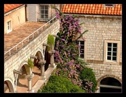 Looking At The Dubrovnik - Croatia by skarzynscy
