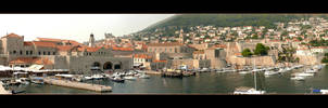 Old Port Of Dubrovnik - Croatia by skarzynscy