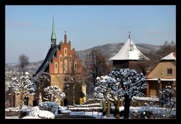 Czchow Frozen Market - Poland by skarzynscy