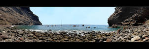 Uff! Ocean... End Of The George Masca - Panorama by skarzynscy
