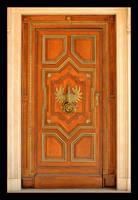 Door - Czapski Palace In Cracow by skarzynscy