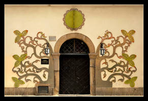 Entrance To The Museum of Ethnography In Krakow by skarzynscy