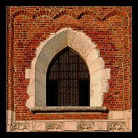Window Of Old Town Hall by skarzynscy