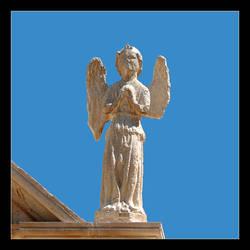 Slightly Worn Angel by skarzynscy