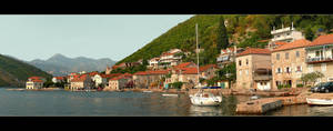Kotor Bay Panorama by skarzynscy
