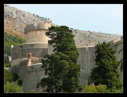 Power Walls Of Dubrovnik - 2 by skarzynscy