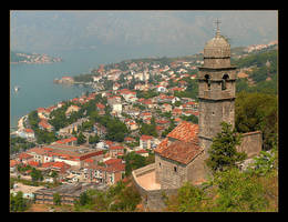 View For The Kotor City And Bay by skarzynscy