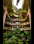 Hotel Garden Vertical Panorama by skarzynscy