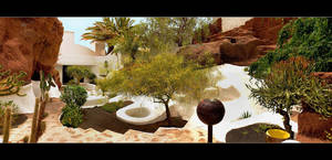 Omar Sharif House - Panorama by skarzynscy