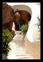 Omar Sharif House - Stairs by skarzynscy