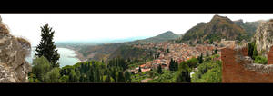 Taormina Panorama by skarzynscy
