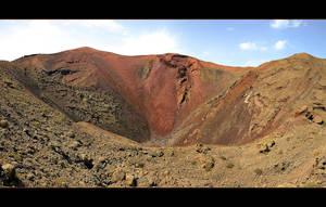 Crater... Panorama by skarzynscy