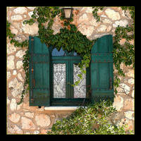 Green Window And... Green by skarzynscy