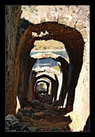 Overturning Tunnel - Turkey (Analog photo) by skarzynscy