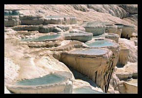 Pamukkale - 1 (Analog Photo) by skarzynscy