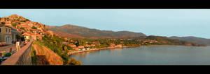 Molyvos - City On Lesbos Island by skarzynscy