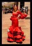 Fiesta - Red Flower From Malaga! by skarzynscy