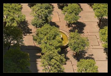 Cathedral's Garden by skarzynscy