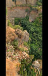 Panorama Of Great Gorge In Ronda by skarzynscy