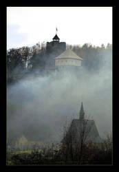 Smoke From An Autumn fire by skarzynscy