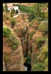 Puente Romano - Old Bridge In Ronda by skarzynscy