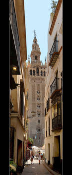 A Narrow Street With A View - Vertical Panorama by skarzynscy