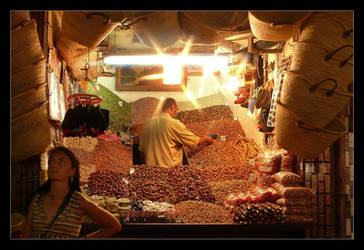 Marrakech Night Market by skarzynscy