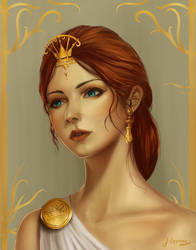 Greek Goddess by JonathanL96