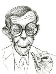 George Burns by Caricature80