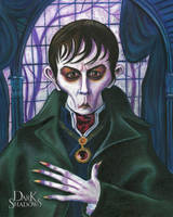 Johnny Depp as Barnabas Collins in Dark Shadows by Caricature80