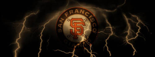 SF Giants lightning by ja906