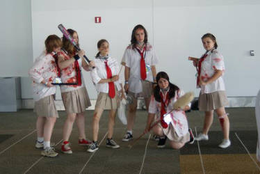 Bloody Girls by RozuOtakon2009