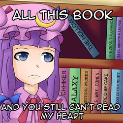 What Patchouli Knowledge thinking by yuritho